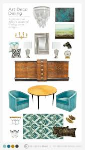 Art Deco Dining Room Moodboard O ADaesthetic