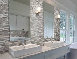 Grey Tiles In Bathroom by Montage Stone Concepts Tile Ideas For Kitchen Splashbacks