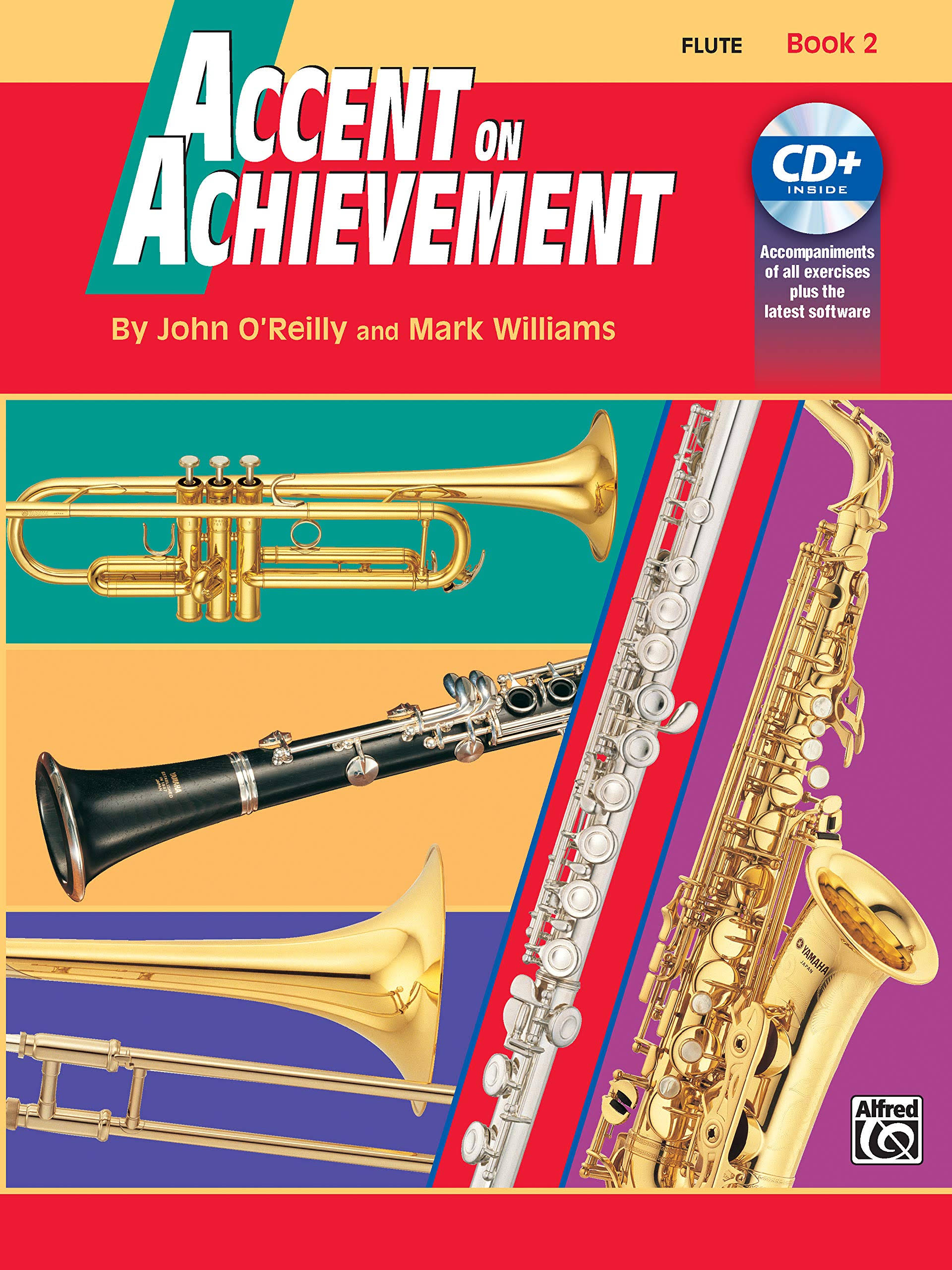 Accent On Achievement For Flute Books 2 and 3 Method Book with CD