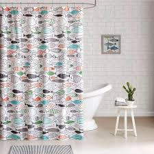 Shower Curtain Ideas For Small Bathrooms 7 Shower Curtain Ideas Make Your Bathroom Look Spacious