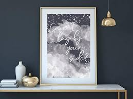 poster print artprint can i lay by your side aquarell