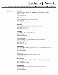 Picture Of References Resume Format Sample Page Make Photo Gallery