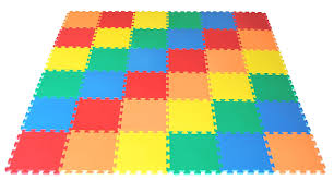 mat non toxic non recycled thick rainbow
