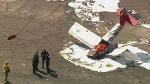 Pumpkin Patch Irvine Jeffrey by Small Plane Crashes Near El Monte Airport 1 Dead Cbs Los Angeles