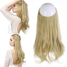 Amazoncom Secret Halo Hair Extensions Flip In Curly Wavy Hair