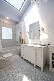 1920s white marble bathroom makeover traditional bathroom