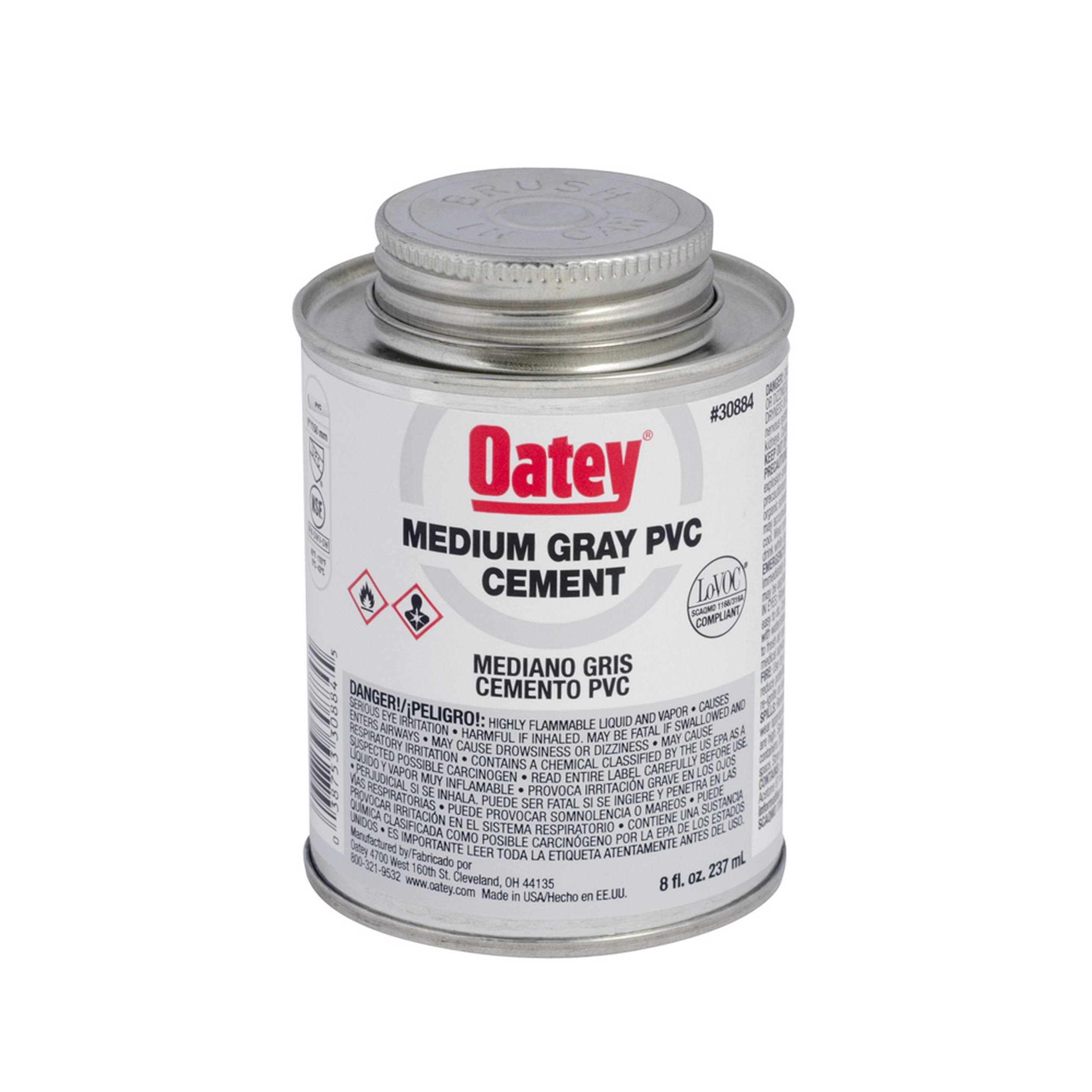 Oatey Clear Regular PVC Cement - 32oz