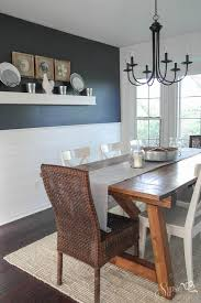 Lovely DIY Rustic Dining Room Table With Best 25 Farmhouse Ideas On Pinterest Farm Kitchen