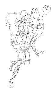 My Little Pony Coloring Pages Pinkie Pie And Rainbow Dash Co
