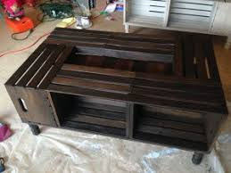 Cratesuctionswineuctions Medium Size Of Coffee Tablewine Crate Table Wooden Stains Diy And Crafts