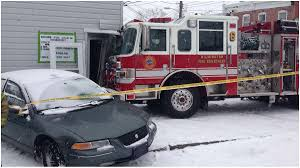 100 First Fire Truck Snowfall Poses Challenge For Wilmington Fire Truck WHYY