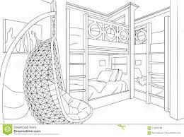 schlafzimmer mit vier betten einzigartige unbedeutende