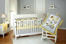 Grey Yellow Nursery Decor And Baby Room