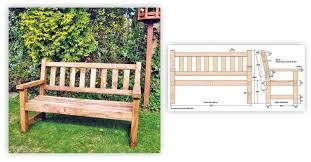 build garden bench u2022 woodarchivist