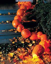 Drilled Pumpkin Designs by Pumpkin Snake U0026 Martha Stewart