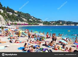100 Villefranche Sur Mere Beach In SurMer France Stock Editorial Photo