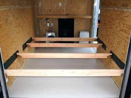 Small Camper Ideas Creative For Enclosed Trailer To Conversion Travel Storage