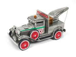 100 1928 Ford Truck Texaco Model A Tow Brushed Metal Version 125 Scale