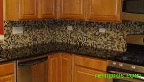 how to tile a backsplash installation of kitchen backsplash