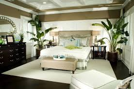Modern And Luxury Master Bedroom Paint Ideas With Dark Furniture As Well Floor