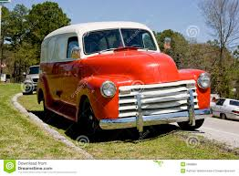 1950 Chevrolet Panel Truck Stock Photo. Image Of Blue - 5888886