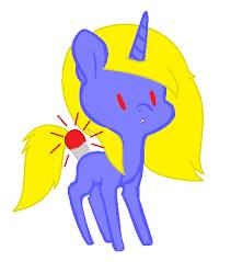 custom light bulb pony for armydudeelite21 by deslove01 on deviantart