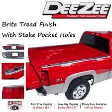 100 Truck Bed Caps DZ11994 Dee Zee Brite Aluminum Rail Chevy GMC CK 66