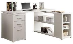 Monarch Specialties Corner Desk With Hutch by Left Or Right Facing Corner Computer Desk Contemporary Desks