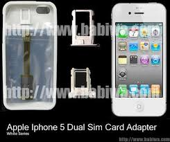 2 Simcard for Apple Iphone 5 White Genuine Apple Iphone 5 Dual