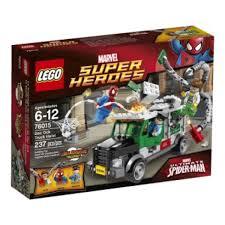 Info Harga LEGO 76015 SUPER HEROES: Doc Ock Truck Heist Dan Tempat ...