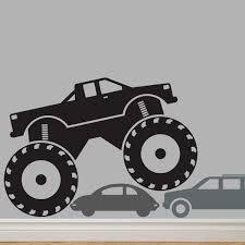 100 Monster Trucks Names MONSTER Truck Custom Decal YOUR NAME Original Graphics By