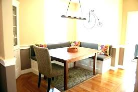 Corner Dining Room Seating Table With Banquette Bench