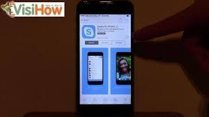 Download and Setup Skype on an iPhone 6 VisiHow