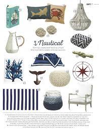 Everything Coastal More Blue and White Nautical Decorating Ideas