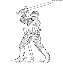 Norman Archer Knight With A Two Handed Sword