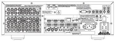 NAD T 187 Surround Sound Preamp Processor AV etuvahvistin prosessori