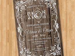 Rustic Rehearsal Dinner Invitations Is One Of The Best Idea For You To Make Your Own Invitation Design 15