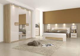 easy möbel schlafzimmer komplett set a satalo 5 teilig farbe eiche braun creme hochglanz