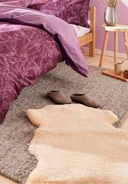 lammfell als teppich oder für sessel wohnzimmer