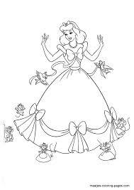 IColor Fairytale Classics Cinderella 595x842 Disney Coloring PagesColoring Book