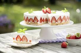 erdbeer topfen torte