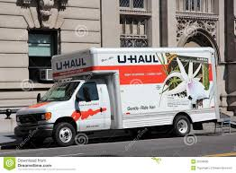 U-Haul Truck Editorial Image. Image Of North, United - 32539055
