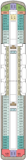 Celebrity Equinox Deck Plan 6 by Regatta Deck 6 Deck Plan Tour