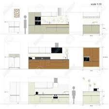 hauteur de meuble de cuisine exceptionnel hauteur standard meuble cuisine taille standard meuble