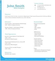 One Page Resume Examples E Template Single Templates For Freshers Word Free Download