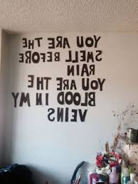 Photo 1 Of 4 Banks Bedroom Wall Lyrics
