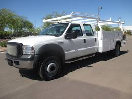 100 Ford Trucks Used USED 2006 FORD F550 SERVICE UTILITY TRUCK FOR SALE IN AZ 2370