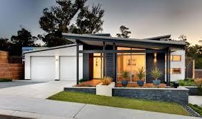 104 Rural Building Company Facade House Skillion Roof Modern House Exterior