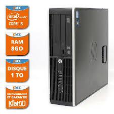 pc de bureau reconditionné ordinateur de bureau hp elite 8200 i5 8go ram 1to disque dur