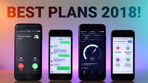 Best Cell Phone Plans 2018